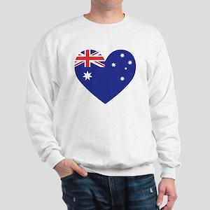 Australian Heart Sweatshirt