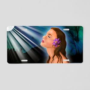 GODDESS-GLOW-CLUTCH Aluminum License Plate