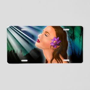 GODDESS-LAPTOP-SKIN Aluminum License Plate