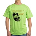 Neanderthals For The Reclamation Of Europe Green T
