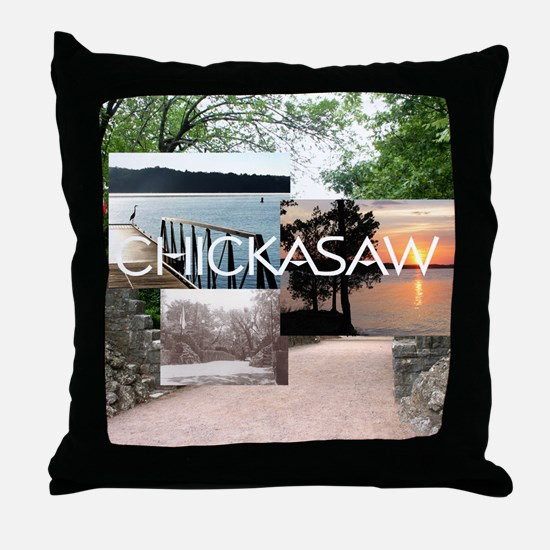 chickasaw1 Throw Pillow