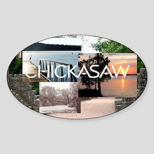 chickasaw1 Sticker (Oval)
