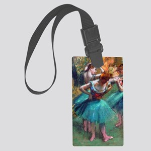 GC2 Degas GreenPink Large Luggage Tag