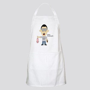 Man Muscles Apron
