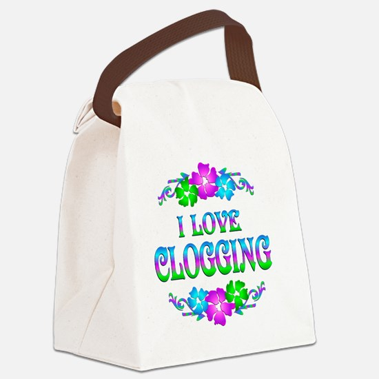 CLOG Canvas Lunch Bag