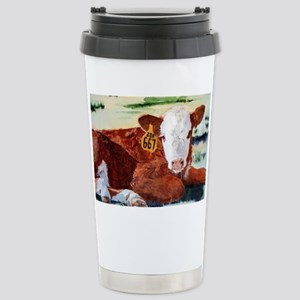 calfnote Stainless Steel Travel Mug