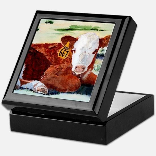 calfnote Keepsake Box