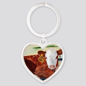 calfnote Heart Keychain