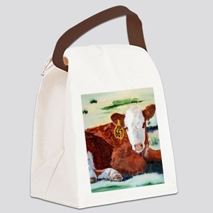 calfnote Canvas Lunch Bag