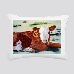 calfnote Rectangular Canvas Pillow