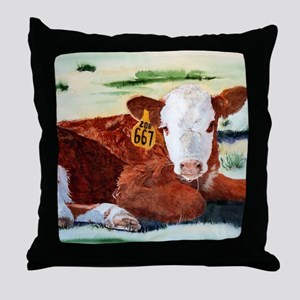 puzzcalf Throw Pillow