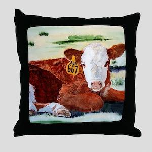 puzzcalf Throw Pillow