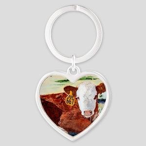 puzzcalf Heart Keychain