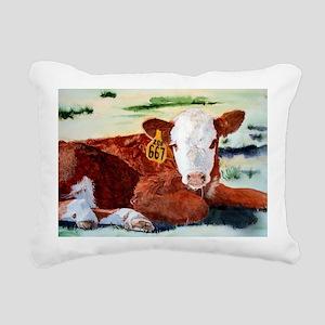 puzzcalf Rectangular Canvas Pillow