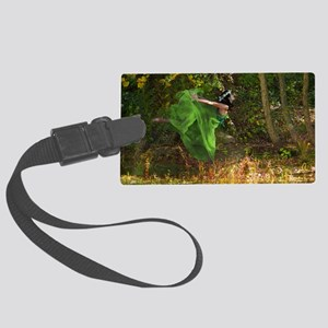 SUMMERS-LAST-DANCE-LAPTOP Large Luggage Tag