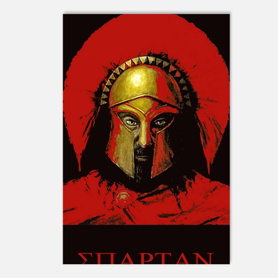 Spartan Postcards (Package of 8)