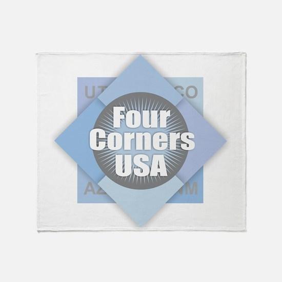 Four Corners Throw Blanket