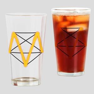 SuperM Drinking Glass