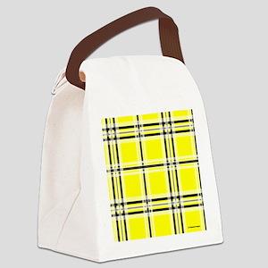 mousepadyeloplaid Canvas Lunch Bag