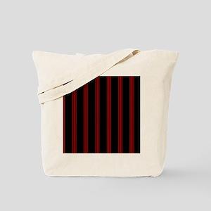 mousepadredpinstripe Tote Bag