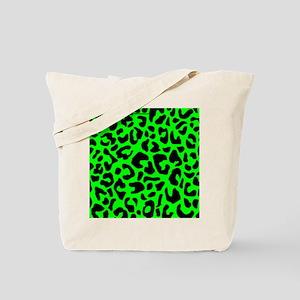 mousepadgrnleopard Tote Bag