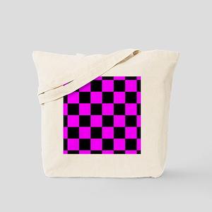mousepadpinkcheckerboard Tote Bag