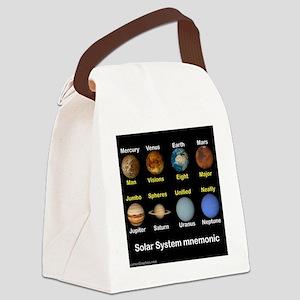 Solar_System_NEWmonic Canvas Lunch Bag