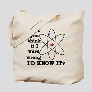 dont_you_think_black_letters Tote Bag