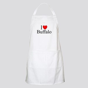 """I Love Buffalo"" BBQ Apron"
