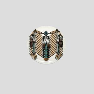 Native American - Breastplates - 002 Mini Button