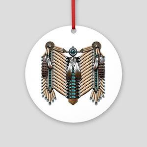 Native American - Breastplates - 00 Round Ornament