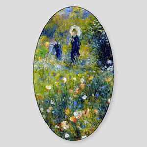 K/N Renoir Parasol Sticker (Oval)