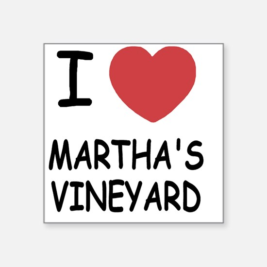 "MARTHAS_VINEYARD Square Sticker 3"" x 3"""