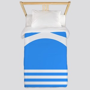Mostar (white) Twin Duvet