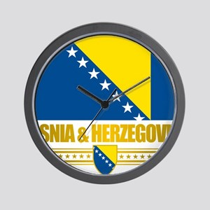 BosniaHerzegovina (Flag 10)2 Wall Clock