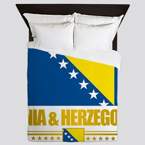 BosniaHerzegovina (Flag 10)2 Queen Duvet