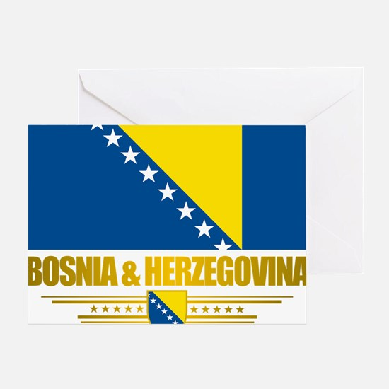 BosniaHerzegovina (Flag 10)2 Greeting Card
