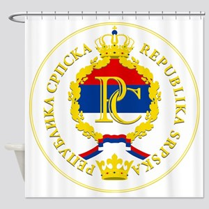 Srpska COA Shower Curtain