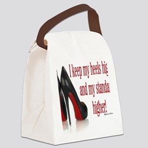 High Standards Canvas Lunch Bag