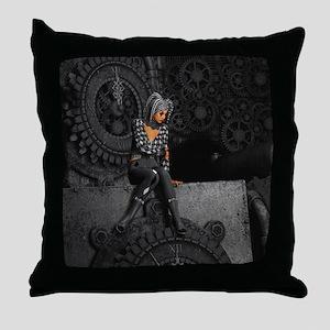 ttro_shower_curtain Throw Pillow