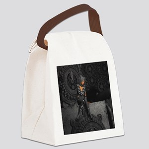 ttro_shower_curtain Canvas Lunch Bag