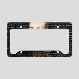 shakespeare banner License Plate Holder
