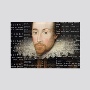 shakespeare banner Rectangle Magnet