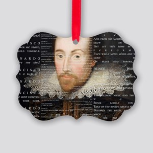 shakespeare banner Picture Ornament
