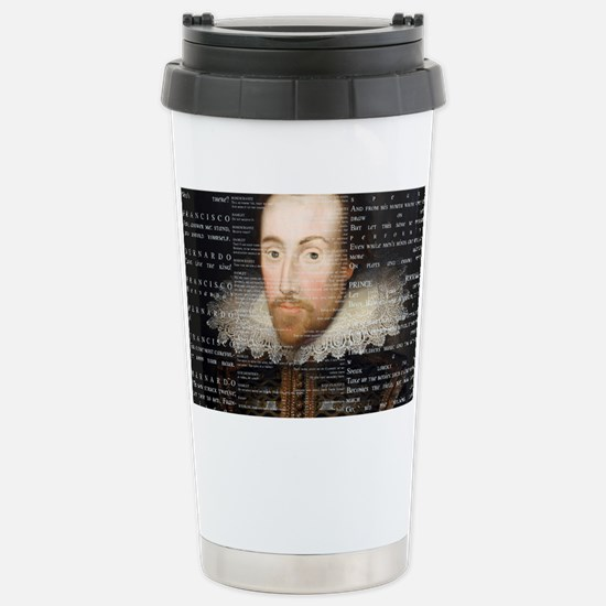 shakespeare banner Stainless Steel Travel Mug
