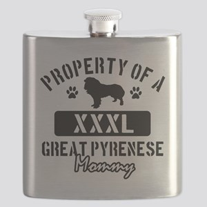 great pyrenese mom  property Flask