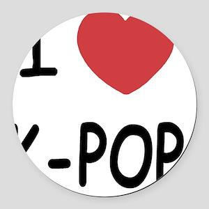 KPOP Round Car Magnet