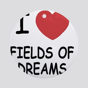 FIELDS_OF_DREAMS Round Ornament