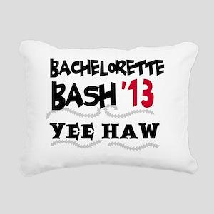 13yeehawbachbac Rectangular Canvas Pillow