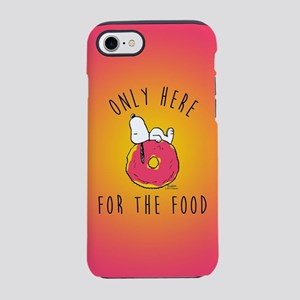 Only Here For The Food iPhone 7 Tough Case